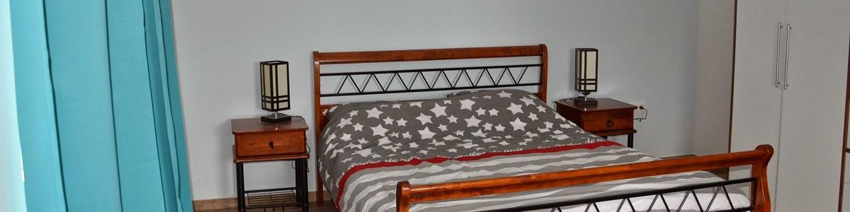 Luxe slaapkamers van Balatonview - vakantiehuis met zicht op het Balatonmeer in hongarije